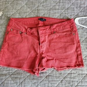 Faded red Gap shorts